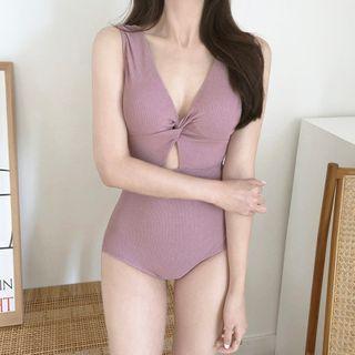 Roseate - Plain Swimsuit