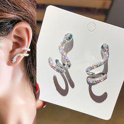 Catalunya - Rhinestone Cuff Earring