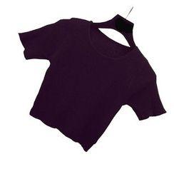 Ikas - 短袖短款針織上衣
