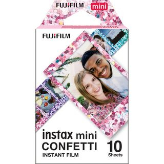 Fujifilm - Fujifilm Instax Mini Film (Confetti) (10 Sheets per Pack)