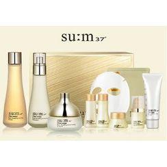su:m37 - Time Energy Special Set: Toner 160ml + 20ml + Emulsion 130ml + 20ml + Cream 50 + 10ml + Serum 5ml + Skin Saver Essential Cleansing Foam 40ml + Mask 1sheet