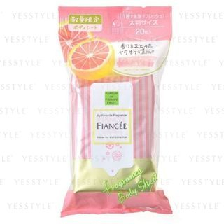 FIANCEE - Fragrance Body Sheet Pink Grapefruit