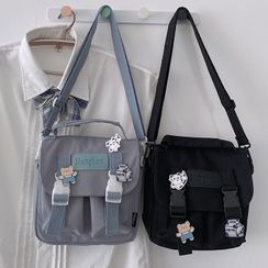 Bolso - 飾扣斜挎包