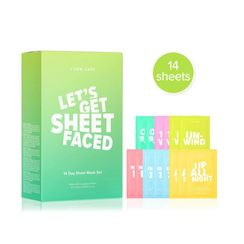 I DEW CARE - Let's Get Sheet Faced 14 Days Sheet Mask Set