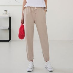 Seoul Fashion - Monotone Jogger Pants