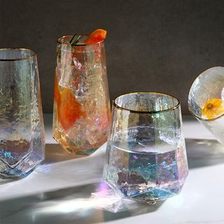 iswas - Diamond-Shaped Drinking Glass