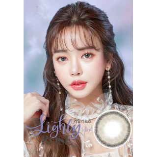 LENS TOWN - Lighly Rose 1-Day Color Lens #Gray