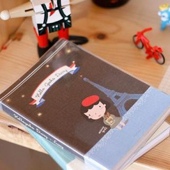 iswas - 'Hello geeks' Character Pocket Diary (Version. 2)