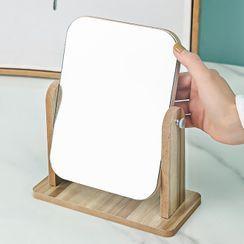 Porcini - Wooden Desktop Mirror