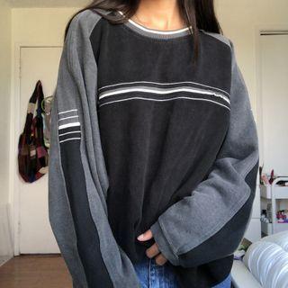 Honet - 条纹宽松卫衣