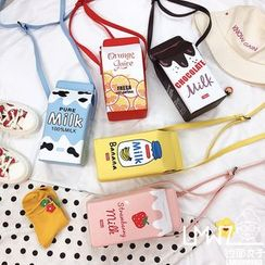 Yunikon - Printed Milk Box Cross Bag