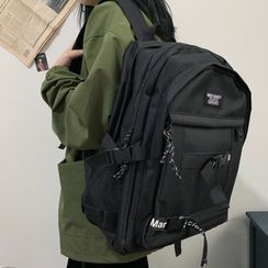 BANGGIRL - Letter Buckled Backpack