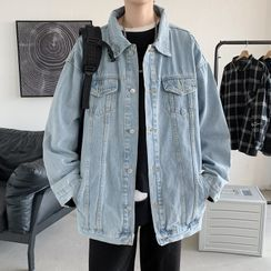 YERGO(ヤーゴ) - Button-Up Denim Jacket