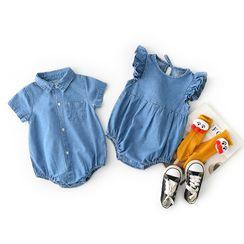 Cen2ury - 嬰兒牛仔連身衣