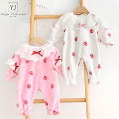 Cen2ury - Baby Strawberry Print One-Piece