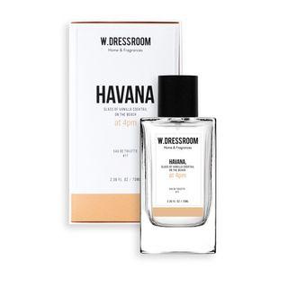 W.DRESSROOM - Eau De Toilette Perfume Spray (#17 Havana) 70ml