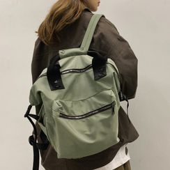 Whirl Twirl - Pocket Detail Lightweight Backpack
