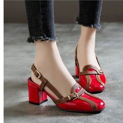 Freesia(フリージア) - Block Heel Sandals