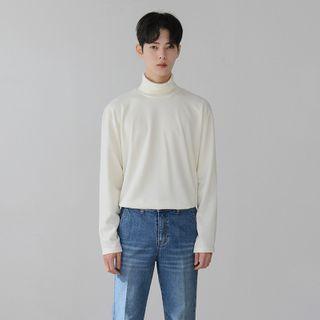 MRCYC - Long-Sleeve Mock-Neck T-Shirt