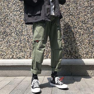 Soulcity - 饰口袋哈伦裤
