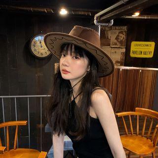 Combon - Suede Cowboy Hat