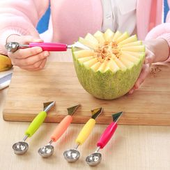 Heysoo - Dual Head Stainless Steel Fruit Baller / Cutter