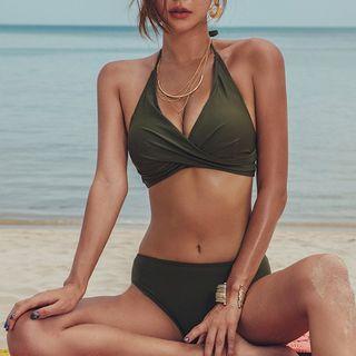 Salanghae - Halter Plain Bikini