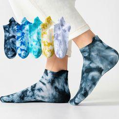 Cloud Femme - 扎染印花袜子