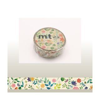 mt - mt Masking Tape : mt ex Watercolor Flower Pattern