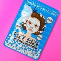 RUDE - Fizz Bizz Deep Cleanse Bubble Mask, 1pc
