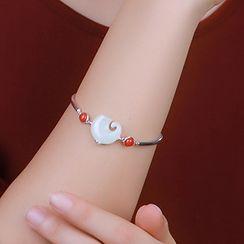 Cinnabar - Chinese Style Bracelet