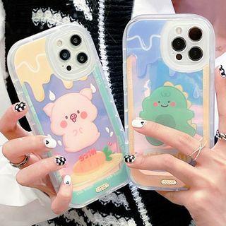 Mobby - Animal Holographic Phone Case - iPhone 13 Pro Max / 13 Pro / 13 / 13 mini / 12 Pro Max / 12 Pro / 12 / 12 mini / 11 Pro Max / 11 Pro / 11 / SE / XS Max / XS / XR / X / SE 2 / 8 / 8 Plus / 7 / 7 Plus