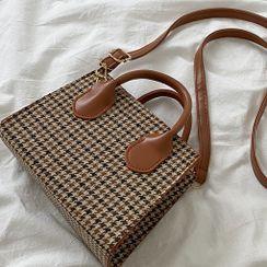 SUMME - Houndstooth Crossbody Bag