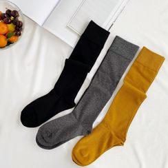 MITU - Knee High Socks / Over-The-Knee Socks / Set