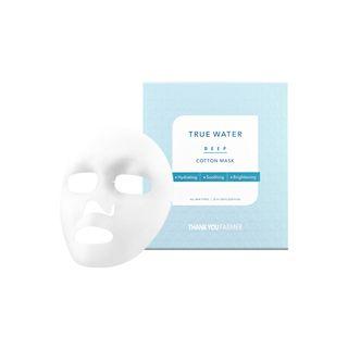 THANK YOU FARMER - True Water Deep Cotton Mask 1pc
