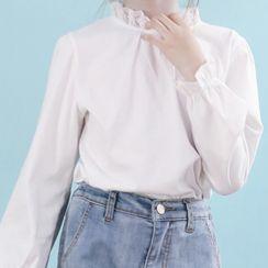 Chisy - 小童蕾丝边衬衫