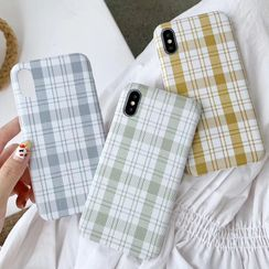 Rockit - Plaid Phone Case - iPhone 6 / 6 Plus / 6s / 6s Plus / 7 / 7 Plus / 8 / 8 Plus / X / XS / XS Max / XR / 11 / 11 Pro / 11 Pro Max