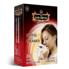 King Coffee - Vietnamese No Sugar 2in1 Instant Coffee & Creamer 10g x15