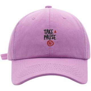 HARPY - 字母刺繡棒球帽