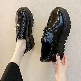 Novice - Platform Patent Loafers