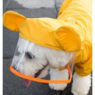 hipidog - Hooded Raincoat Pet Overall