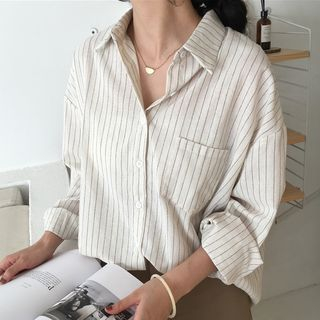 Onnell - Pinstriped Shirt