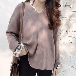 ANLI - V-Neck Sweater