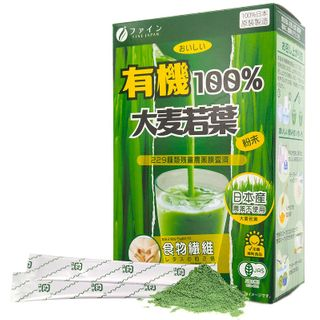 Fine Japan - Organic Young Barley Grass 100% Drink