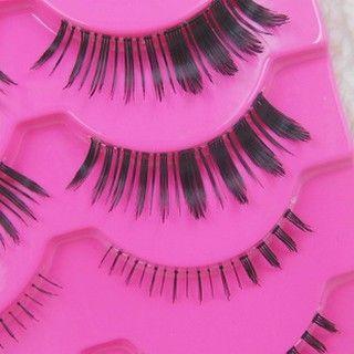 Big Beaute - Set: 3 Pairs Upper False Eyelashes + 2 Pairs Lower False Eyelashes