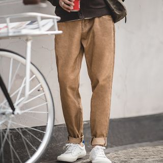 Maden - Washed Straight-Leg Pants