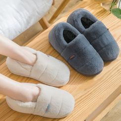 EMERY.V - Couple Matching Furry Indoor Slip-Ons