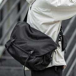 Moyyi - Buckled Crossbody Bag