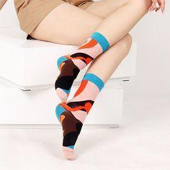 Saysmith - Printed Calf Socks (Various Design)