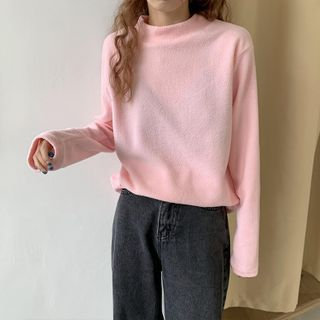 Moon City - Long-Sleeve Fleece Top